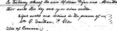1838 Roberts, John and Newton land deed from William Tignor (2)