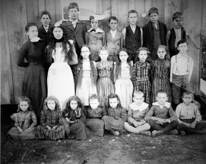 1905 or 1906 Ft. Worth Masonic Home Children (5)