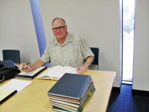 Gary power researching in San Antonio 2015