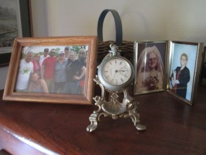The Christmas watch stand