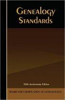 Genealogical Standards book cover