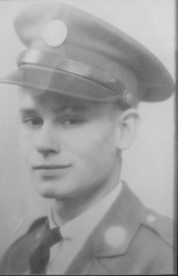 Burton Lee Roberts Army