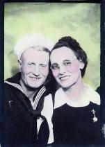 Gus and Emma Roberts ca 1942