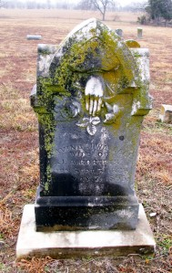 Lavina Jane Wallce, Wife of J.A.Roberts, Born Sept 5, 1828, Died May 7, 1895