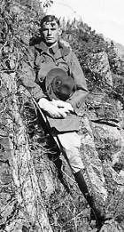 B.L. Roberts near Ft. Sill