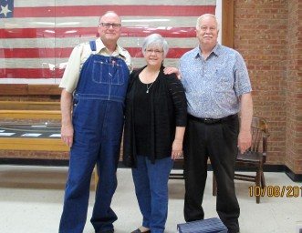 Gary with Pam and Gary Fisher